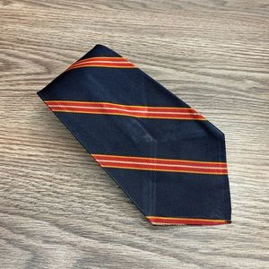 Brooks Brothers Navy w/ Red & Gold Stripe Tie